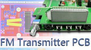 FM transmiter PCB