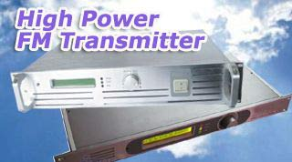 High Power FM-Transmitter