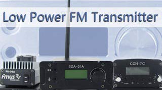 Low Power FM vysílač