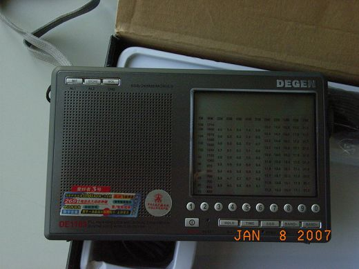 DEGEN DE1103 PLL FM / LW.MW.SW / SSB Shortwave RADIO
