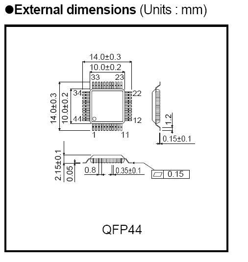 bh1414k transmisor fm inal u00e1mbrico audio link ic