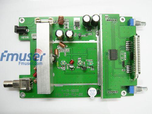 2 stuks FMUSER 15w FM-sender PLL LCD Radio Stereo MIC 88-108MHz Board PCB RV1.1