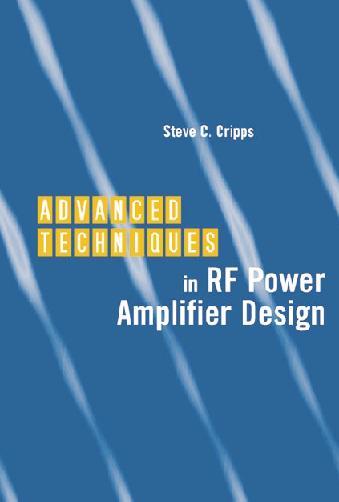 """llibre electrònic PDF """"Tècniques Avançades en potència Amplificador de RF Disseny"""""""