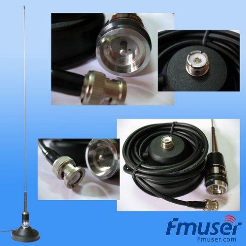 FMUSER 87-108 MHz FM Antenne FM Motor suier vir motor FM-sender