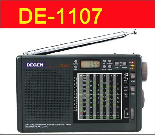 DEGEN DE1107 Digital CLOCK FM / AM / SW MULTI BAND RADIO
