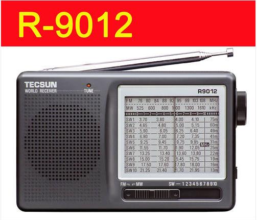 MPYA Tecsun R-9012 FM, MW, SW 12 BAND redio receiver R9012