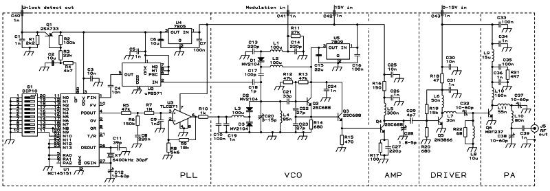 transmisor de transmisi u00f3n est u00e9reo 80 watt fm