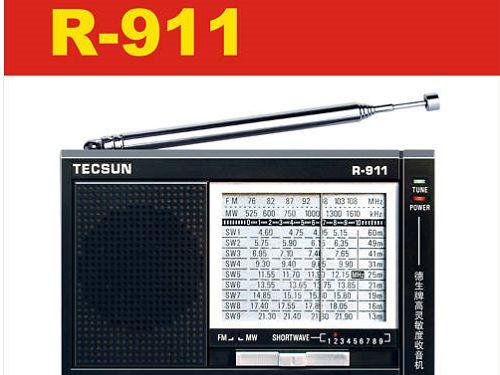 Tecsun R-911 FM / AM / SW (11Bands) Multi Bendi Radio R911