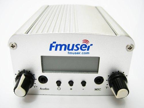 10pcs FMUSER 5W V5.0 FM estèreo transmissor PLL transmissor GP antena KIT de potència