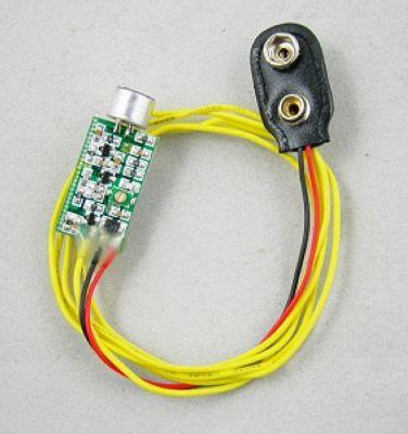 FMUSER Mini nadajnik FM Mic Spy 60 MHZ-128 MHZ 9 V 100 godzin