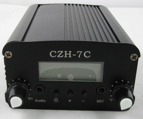 10 unitats FMUSER 7W CZH-7C FM estèreo transmissor PLL transmissor GP antena KIT de potència