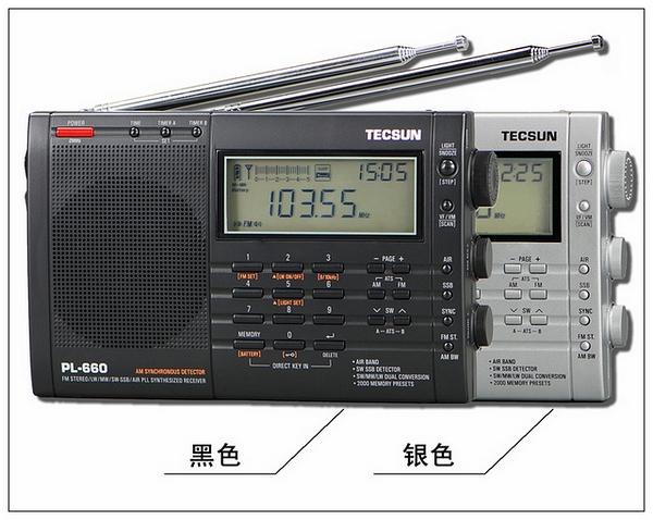 TECSUN PL-660 PLL AIR / FM / MW / LW / SW SSB SYNC PL660 RADIO