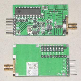 FMUSER 8W Universal 315/433 gekodeerde draadlose afstandsbedieningssender module hoë krag draadlose afstandsbedienersender