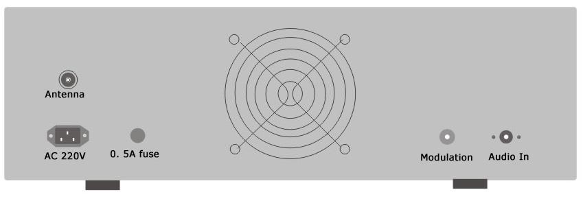100w 2u pll lcd transmisor fm est u00e9reo de difusi u00f3n 87