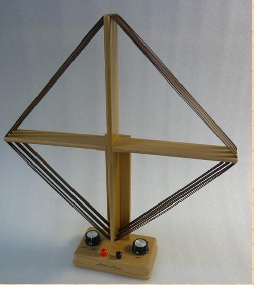 FMUSER Egurrezko MW Loop Hartzailearen Antena