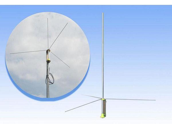 Fmuser GP200 5w-100W 1 / 2 golf Professionele FM Transmitter GP Antenna BNC SL16 met 8M. kabel