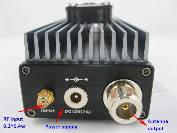 Amplificador de potència de sortida FM de 30w
