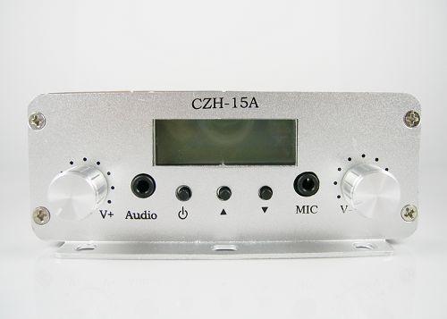Descarregar FU-15A CZE-15A CZH-15A 15W transmissor FM Manual d'Anglès PDF