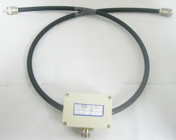FMUSER Two in One Power Splitter / Combiner 300W vir Dipole-antenne 88MHz-108Mhz