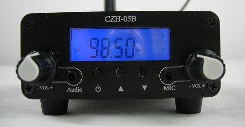 Descarregar 0.5W FU-05B CZE-05B CZH-05B transmissor FM Manual d'Anglès PDF