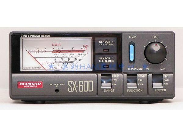 Original DIAMOND SX-600 SWR Power Meter