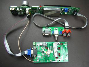 FMUSER FSN-150 0-150W radio-uitsaaistasie FM-sender PCB KITS