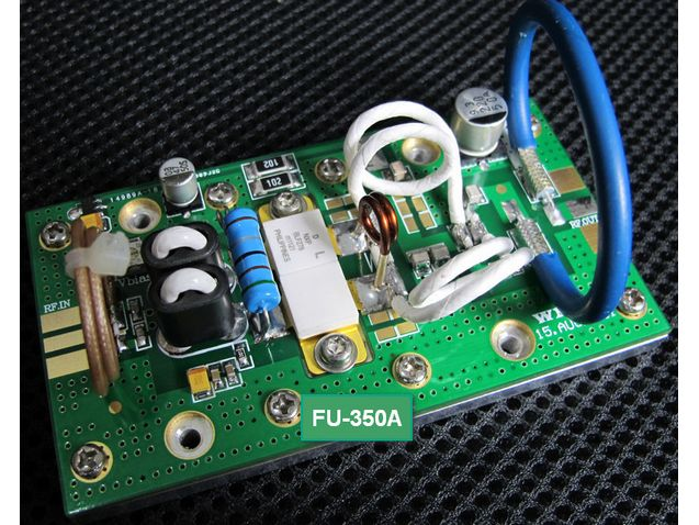 FMUSER FU-350A 350W 300W Moduł palety wzmacniacza mocy FM 75Mhz - 110Mhz wejście 2W wyjście 350W