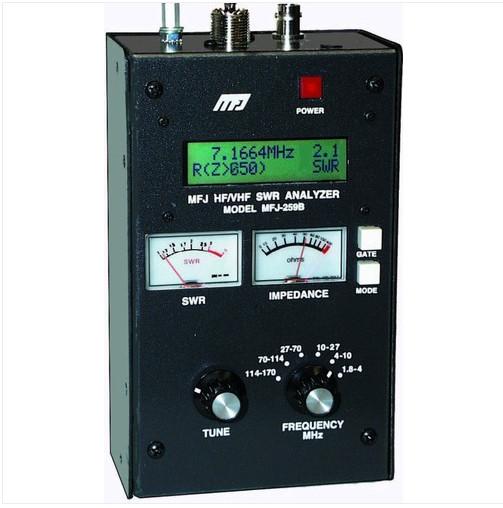 USA MFJ259B MFJ259 SWR Antena Analyzer HF / VHF 1.8 të 170 MHz