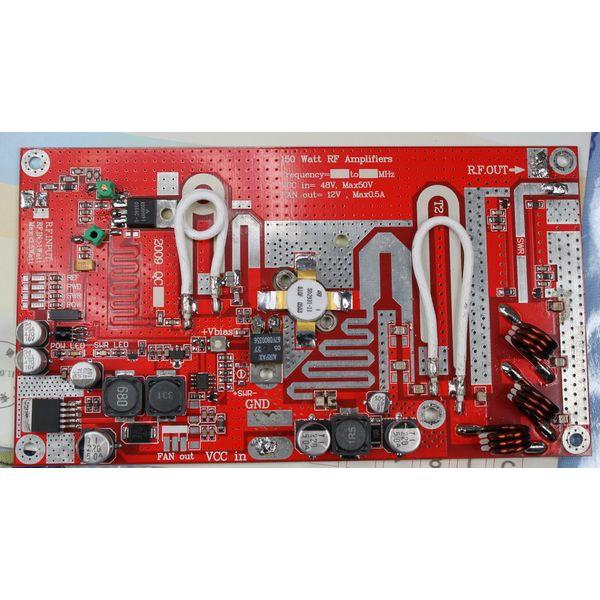 FMUSER FU-150A 150W moduł palety wzmacniacza mocy RF 75Mhz - 110Mhz wejście 1W wyjście 150W