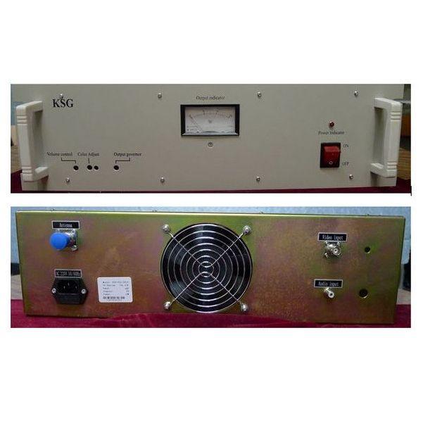 Transmissor de TV FMUSER 15W UHF / VHF + antena de transmissió + kit complet de cable d'alimentació 30M