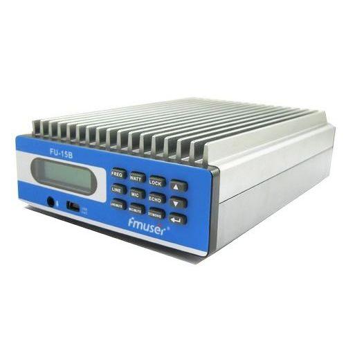 FMUSER 0W-15W PREMIUM SDA-15B CZE-15B FU-15B profesjonalne sterowanie komputerem nadajnik FM bezpłatna wysyłka pokrywa 2 KM-4KM