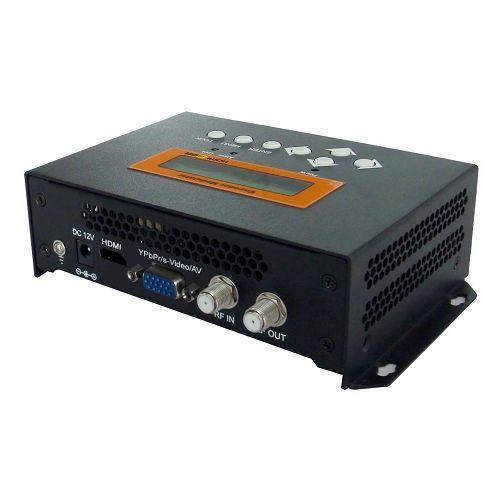 FMUSER FUTV4652H ISDB-T MPEG-4 AVC / H.264 HD / SD Encoder Modulator (Tuner, HDMI, YPbPr / CVBS / S-Video in; RF nje) kwa Matumizi ya Nyumbani