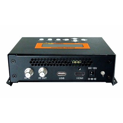 FMUSER FUTV4622 DVB-T MPEG-4 AVC / H.264 HD Encoder Modulator (Tuner, HDMI in; RF nje) na USB Upgrade kwa Matumizi ya Nyumbani