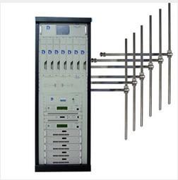 FMUSER 5000W 5KW profesjonalny nadajnik radiowy FM do montażu w szafie + antena dipolowa 6 Bay + system złączy do stacji radiowej City