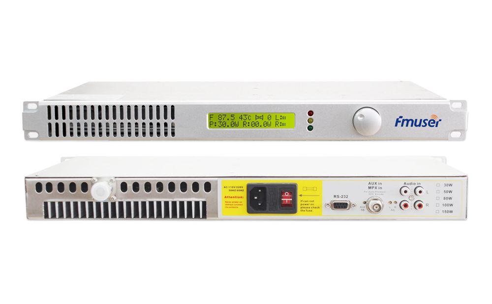 50W FM-Sender für UKW-Rundfunksender FSN-50B + 1 / 2-Wellen ...