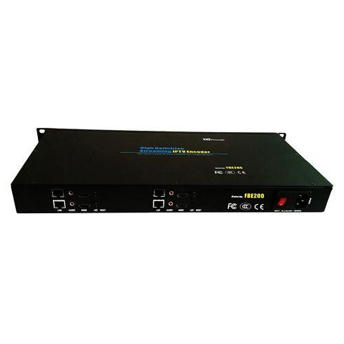 FMUSER 4- ը 1- ում H.264 / H.265 High Definition HD IPTV հոսքային Encoder-FBE204-H.265