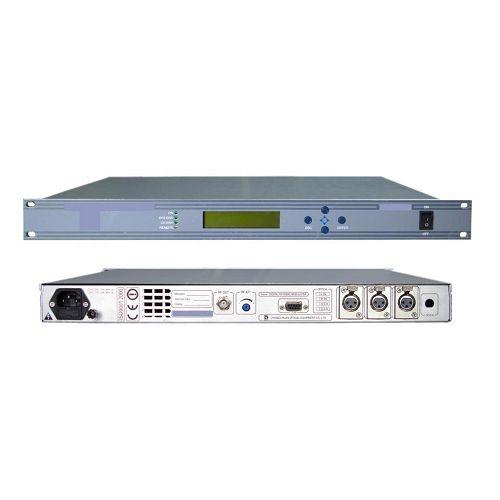 FMUSER Profesjonalny modulator FM z transmisją w jakości CD DSP DDS AES EBU 1U