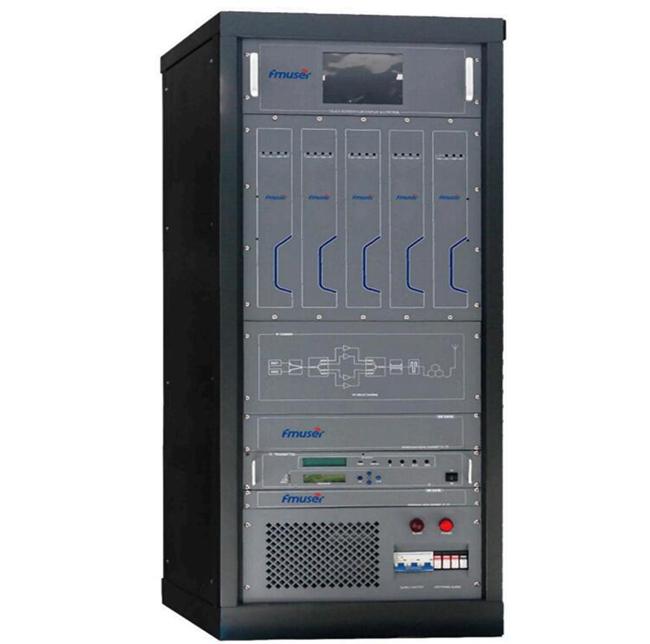 FMUSER 1KW DTV-sender ATSC DTMB DVB-T DVB-T2 ISDB-T TV-sender