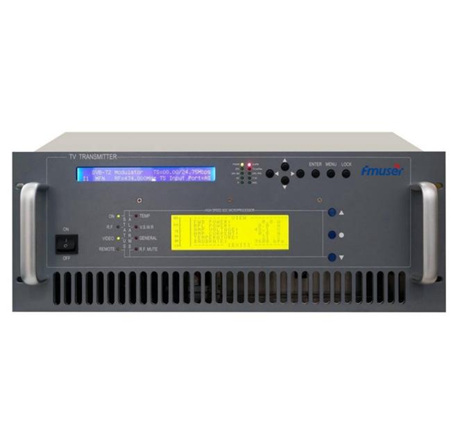 FMUSER 200W digital TV-sender ATSC DTMB DVB-T DVB-T2 ISDB-T TV-sender