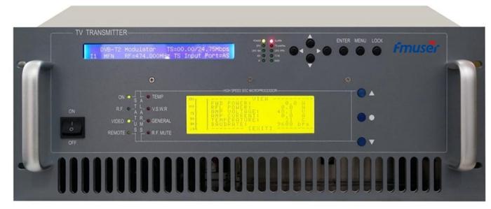 100W Digital TV transmetues