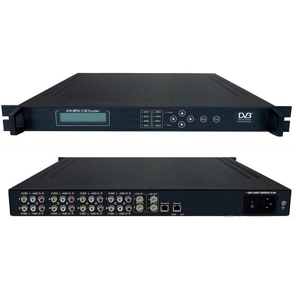 FMUSER FC1313 8-leiðir MPEG-2 H.264 SD kóðara
