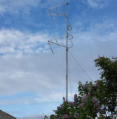 FMUSER CP2 sirkelvormige gepolariseerde FM-antenna-skikkings met twee laaie vir maksimum 100 W krag