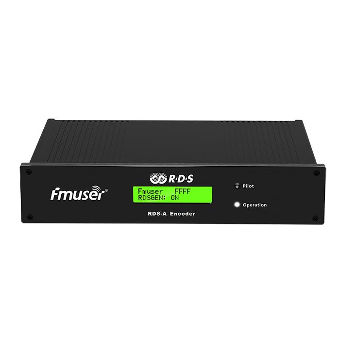 FMUSER RDS-A RDS Encoder for FM-sender med