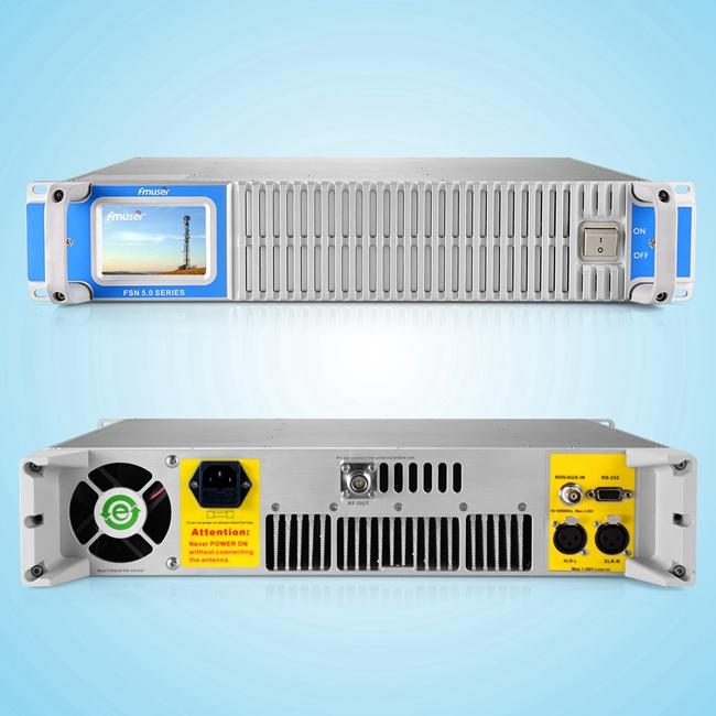Emissora de ràdio FMUSER FSN-1500T 1500W Transmissor de FM amb pantalla tàctil per a emissores de ràdio 30-40km