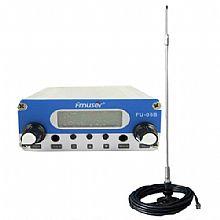 FMUSER 0.5W ชุดส่งสัญญาณ FM สำหรับคริสตจักรถือ 'บูชาในไดรฟ์' ในการตอบสนองต่อ COVID-19