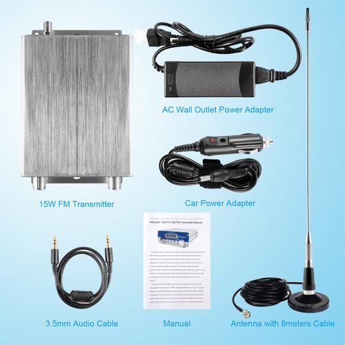 15wfm無線送信機