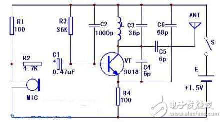 FM送信機回路図(FMラジオ/ FM IF / MWラジオ送信機回路図の詳細説明)