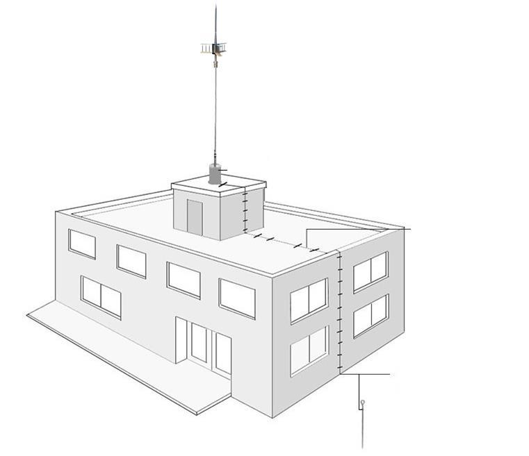 FMUSER Professional Lightning Protection ชุดระบบสำหรับเสาอากาศทาวเวอร์