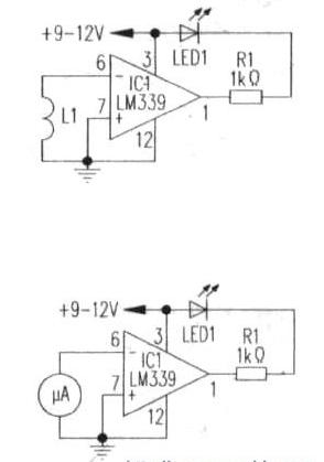 Circuito de detecção de campo magnético