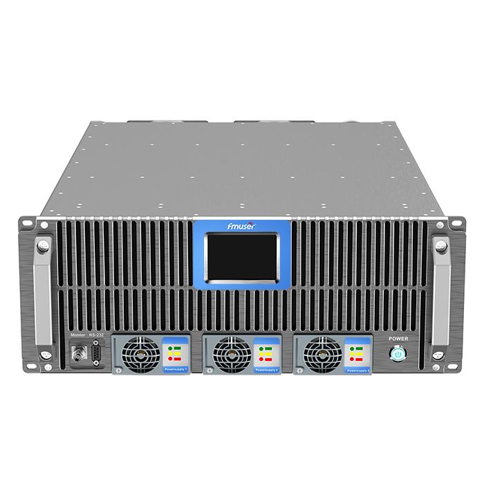 FMUSER FSN-3500T 3.5KW 3500W Transmissor de FM Talla 4U Per a estació de ràdio FM Brodcasting